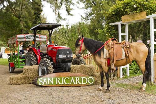 Entrada de Jardín Doña Marieta en San Ricardo Farm & Lodge, Chimaltenango, Guatemala