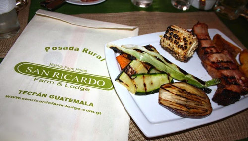 Restaurante de San Ricardo Farm & Lodge, Tecpán, Guatemala