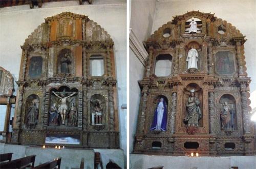 Imágenes de la Catedral San Francisco de Asis, Tecpán, Guatemala