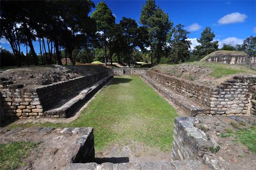 Templo Maya Iximché, Tecpán, Chimaltenango, Guatemala