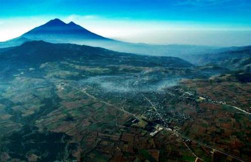 Vista panorámica de Chimaltenango