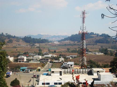 Vista panorámica de Santa Apolonia, Chimaltenango