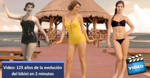 Evolucion del bikini