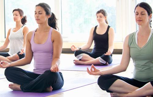 Relajacion por medio de Yoga