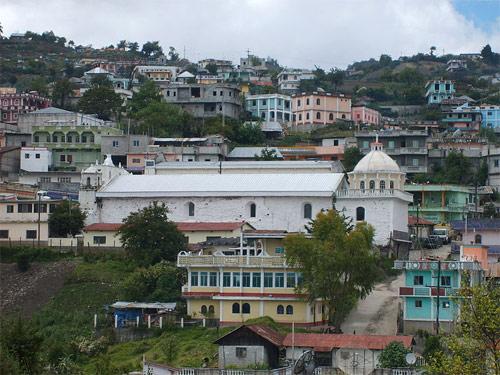 Cabecera municipal de San Mateo Ixtatán, Huehuetenango, Guatemala.