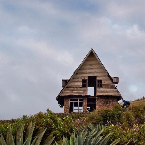 Cabaña en pracera cercana al Mirador Juan Diéguez Olaverri, Huehuetenango