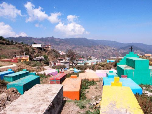 Cementerio de San Mateo Ixtatán, Huehuetenango