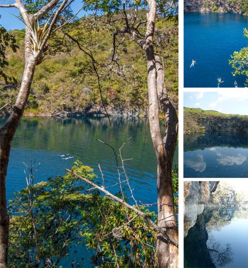 Los Cenotes de Candelaria, Nentón, Huehuetenango, Guatemala. Cenote grande