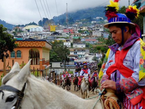 Fiesta patronal de Todos Santos Cuchumatán, Huehuetenango, Guatemala