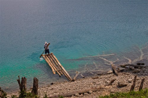 Laguna Yolnabaj, Nentón, Huehuetenango, Guatemala