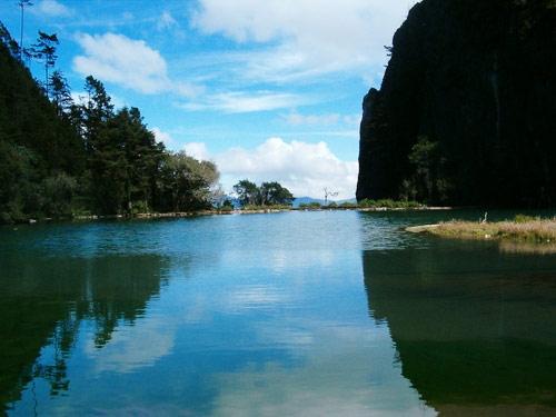 Laguna Magdalena, Comunidad Magdalena, Chiantla, Huehuetenango, Guatemala. Imágen 3