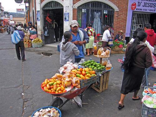 Mercado central de Huehuetenango, Huehuetenango