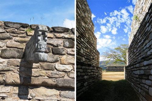 Marcador de Juego de pelota y edificaciones en Mixco Viejo, San Martín Jilotepeque, Chimaltenango Guatemala