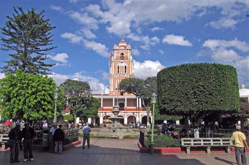 Parque Central, Huehuetenango de Huehuetenango