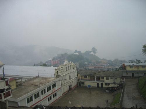 Cielos nublados en San Mateo Ixtatán, Huehuetenango, Guatemala