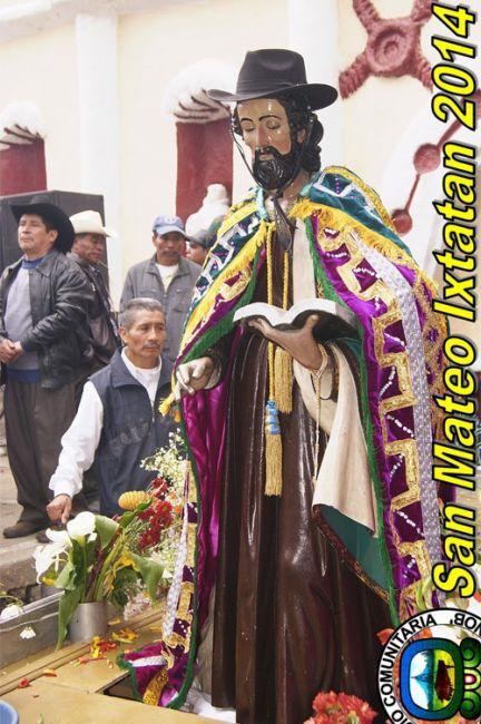 San Mateo, patrono de San Mateo Ixtatán, Huehuetenango
