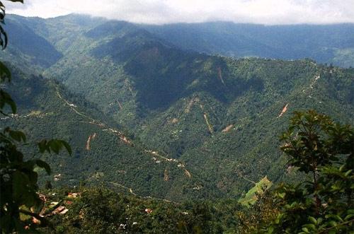 Faldas de la Sierra de los Cuchumatanes, Huehuetenango, Huehuetenango