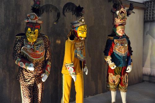 Traje tradicional para realizar el Baile del Venado San Mateo Ixtatán, Huehuetenango.
