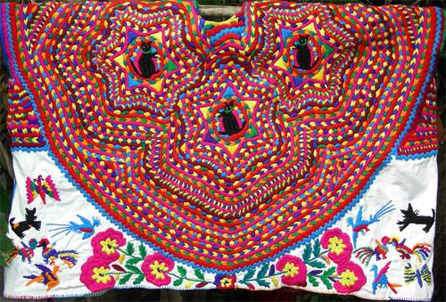 Traje típico de las mujeres de San Mateo Ixtatán, Huehuetenango
