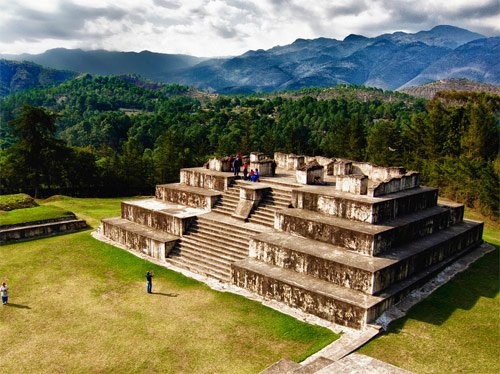 Sitio Arqueológico Zaculeu,Huehuetenango, Guatemala