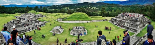 Sitio arqueológico Zaculeu, Huehuetenango, Huehuetenango, Guatemala
