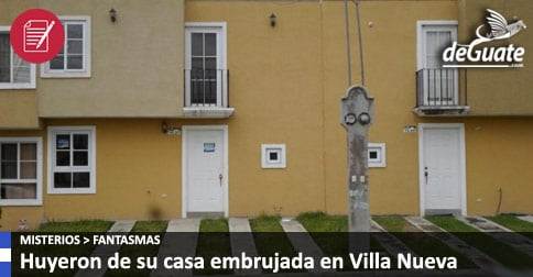 Casa embrujada en Villa Nueva