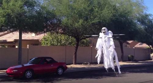 El dron fantasma para Halloween