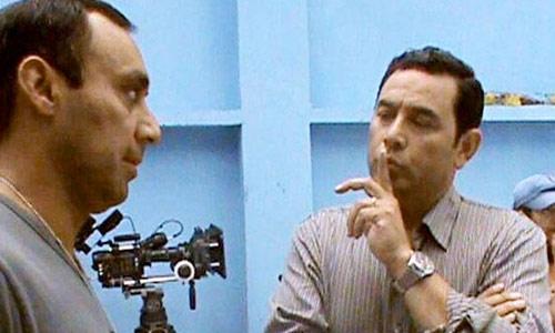 Jimmy Morales y Byron Lima