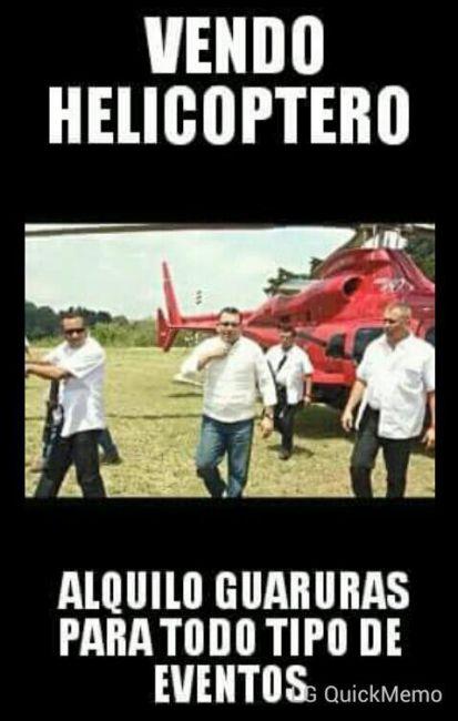 Baldizon vende helicoptero meme