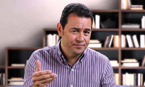 Jimmy Morales experiencia capacidad