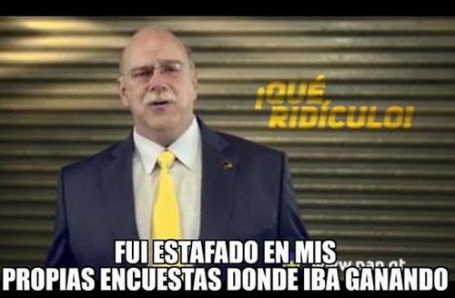 Meme Juan Gutierrez Ridiculo