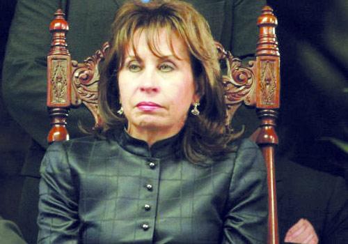 Sandra Torres presidente de facto