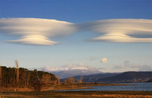 Nubes en forma de disco