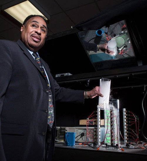 Dr. Ron Mallet laser circular