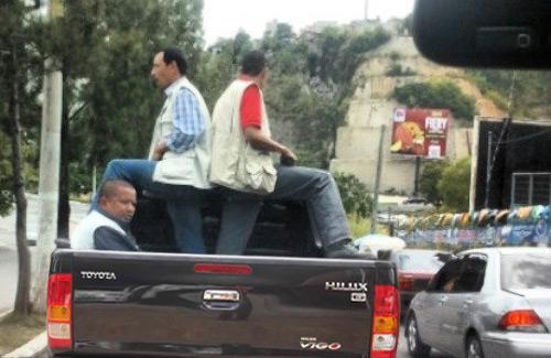 Toyota Hilux Guaradaespaldas Guatemala