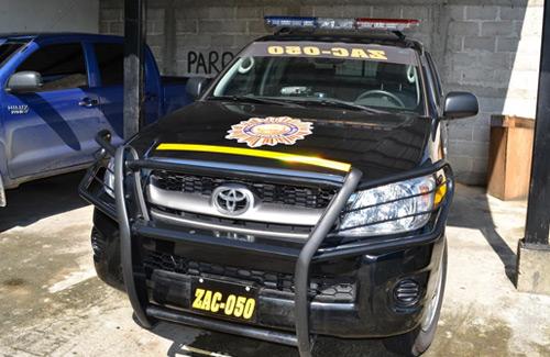 Toyota Hi Lux Policia Nacional Civil