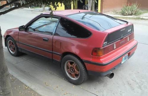 Honda CRX muco naco
