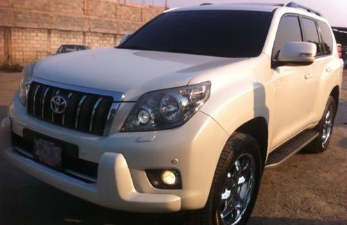 Toyota Land Cruiser Prado blindada Guatemala muco naco