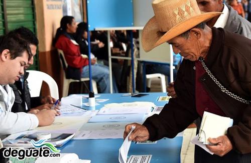 Elecciones campaña