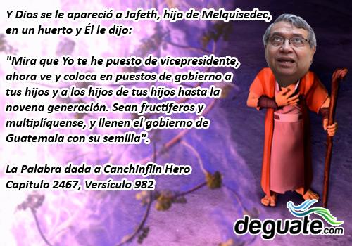 Dios aparecio a Jafeth Cabrera