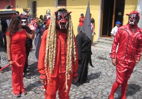 Danza de los Diablos - Guatemala