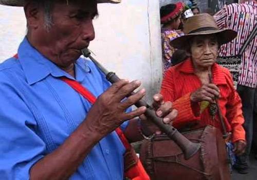 La chirimia - Instrumento musical tradicional de Guatemala