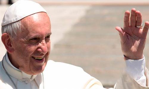 """""""Dios no puede ser Dios sin el hombre"""" dice el papa Francisco."""