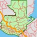 Mapa de distancias y Tiempos en Guatemala