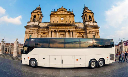 Buses extraurbanos pullman Guatemala