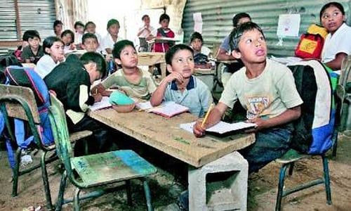 Guatemala enfrente serios problemas en educacion