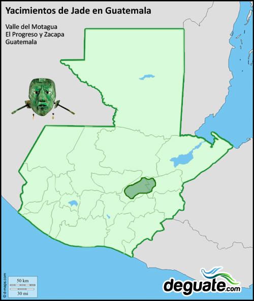 Mapa Jade en Guatemala