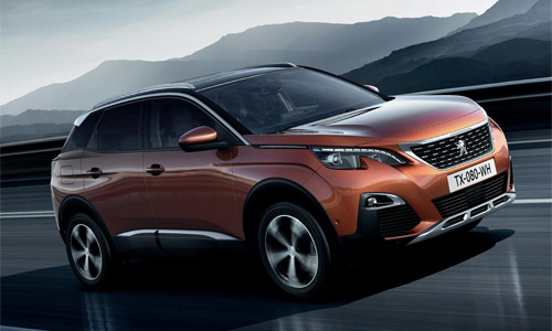 Peugeot 3008 Auto del Año 2017