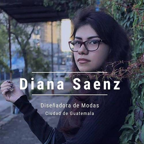 Diana Saenz - Diseñadora de modas guatemalteca