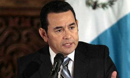 Salario presidente de Guatemala